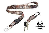 RealTree Neck Lanyard With Quick Release & Carabiner Keychain