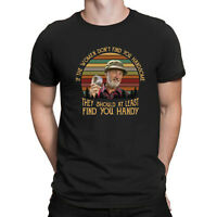 The Red Green Show If Women Don't Find You Handsome Black Cotton Men T Shirt Tee
