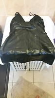 Ann Summers Compulsive wet look & Lace dress Size Medium 12 - 14 New Without Box
