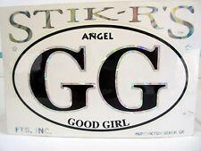 Angel - GG - Good Girl - New Bumper Sticker By Stik-R's FTS Inc.