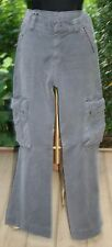 Dondup Olive Green Cargo Pants Sz 8 / 10 Trousers Slacks Womens Casual