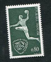 Timbre neuf FRANCE TB** YT n° 1629 : SPORTS : HANDBALL - 1970