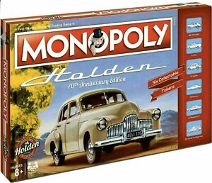 Monopoly Holden Heritage 70th Anniversary Collector's Edition Family Board Game