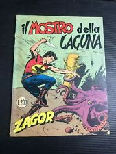 ZAGOR ZENITH originale 93 IL MOSTRO DELLA LAGUNA L.200