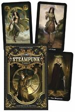 Steampunk Tarot - By Barbara Moore - 78 Card Deck & 312 Page Guide Book