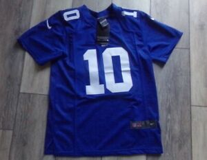 🔥 New With Tags Youth Small Nike ELI MANNING New York Giants Authentic Jersey