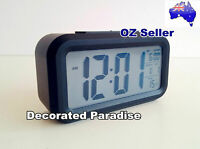 Digital Table/Desk/Bedside Alarm Clock w/ Light Sensor/Big LED Screen/Light