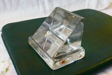 Antique Hayward Brothers Glass Paperweight commemorating the 1871 Patent
