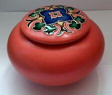 One Acre Ceramics Handmade Wheel Thrown Glazed Pottery Trellis Covered Jar