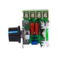 PWM 2000W AC Motor Speed Controller 50-220V 25A Adjustable Voltage Regulator cc