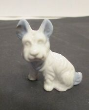 Beautiful Yet Mysterious Ceramic Terrier Dog