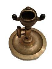 Antique Brass Ship Navigation Compass Cigar Cutter Maritime Marine Nautical Boat