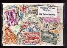 Bélgica - Bélgica paquete postal 100 sellos diferentes
