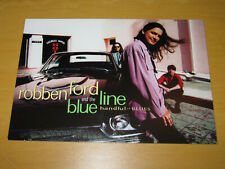 ROBBEN FORD AND THE BLUE LINE - HANDFUL OF BLUES - PROMO POSTCARD