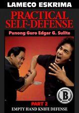 Lameco Eskrima Practical Self Defense #2 Hand Knife Defense Dvd Edgar Sulite