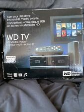 Western Digital WD TV Live Plus HD Media Player w/t Remote, Model WD00AVN