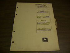 12053 John Deere Parts Catalog Pc-838 Distributor Dry Liquid 184 186 186W Sep 68