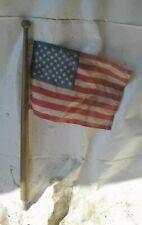 """1974 Carver 25' Boat OMC 225 GM 307 5.0L Flag W 30"""" Wood Pole"""