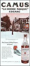 1947 Montmartre Paris Camus Cognac France La Grande vintage photo print ad L58