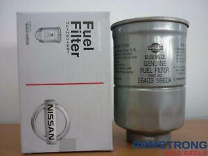 New Genuine Nissan Fuel Filter 1640359E0A TD42 ZD30 RD28TI Y61 Patrol D22 Navara