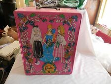 Vintage Barbie Doll Trunk 1969 Used Condition
