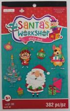 Creatology Christmas Santa's Workshop Sticker Book 382 Stickers New Kids Craft