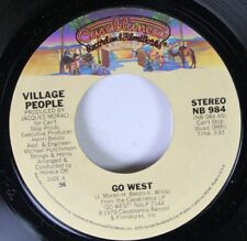 Disco 45 Village People - Go West / Citizens Of The World On Casablanca Record A