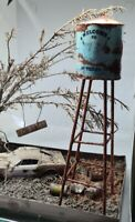 Rusty Realistic Water Tower Texas - Choose Scale 1/18 or 1/43
