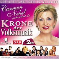Krone der Volksmusik (2002, Carmen Nebel) Orch. Erich Becht, Hansi Hint.. [2 CD]