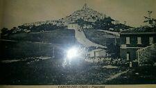 CARUNCHIO (CHIETI ABRUZZO)  cartolina viaggiata nel 1937