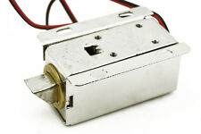 Door Drawer Tongue Down Electric Lock Assembly Solenoid Slim Design Lock DC 12V