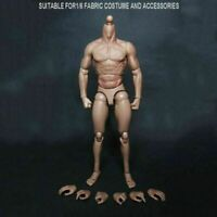 1/6 Scale Man Nude Moveable Male Muscular Body 12'' Action Figure Christmas Toy