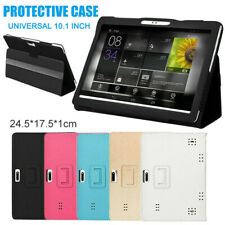 For Onn 10.1 inch Tablet PU Leather Folio Case Stand Cover with Pencil Holder bx