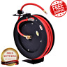 Air Hose Reel Compressor Auto Rewind Durable Multi-Functional 300 PSI 25' New