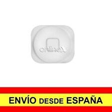 Botón para iPhone 5, 5c Blanco Nuevo ¡Envío desde España! a3136