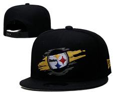 Pittsburgh Steelers NFL Football Embroidered Hat Snapback Adjustable Cap