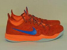 Nike Zoom Crusader Outdoor Men's Basketball Shoes Orange Blue 642855 800 Sz 13