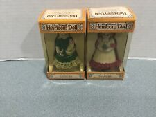Lil Chimers Heirloom Dolls Christmas Bells & Hanging Tree Ornaments - by Jasco