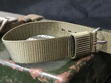 NOS 1965 US Army NATO watch strap - Mil-W-46374 Hamilton, Benrus, Westclox