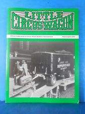 Little Circus Wagon 1994 March April Circus Model Builders International