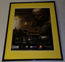 Call Of Cthulhu 2005 XBox 11x14 Framed ORIGINAL Vintage Advertisement