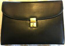 Mark Cross Leather Portfolio