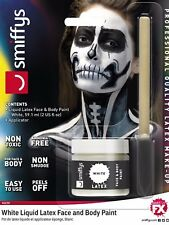 POT of Bianco Lattice Liquido FX Halloween Zombie Face Painting Finta CICATRICE Make up