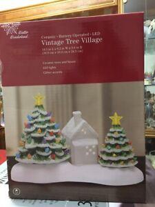 Vintage WINTER WONDERLAND Tree Village