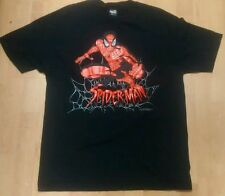 Marvel Spiderman Men's Large Shirt made by Mad Engine