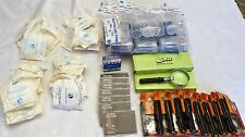 Large Lot of Coin Dealer/Collector Supplies: Loupes, Tubes, Eagle Holders, etc