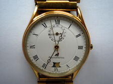 18K/KT/CT GP Maurice Lacroix Watch Moonphase Date Boxes Rare Caliber 737-701