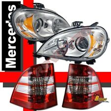 1998-2001 Mercedes W163 ML320 ML430 Projector Headlights + Tail Lights