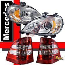 1998-2001 Mercedes W163 ML320 ML430 Projector Headlights & Tail Lights
