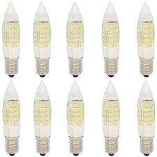 10x 5W E14 LED Energiesparlampe ,mit 44 SMD 2835 LEDs,350lm,Kaltweiß 6000K,350lm